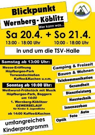 Gewerbeschau 2013 in Wernberg-Köblitz