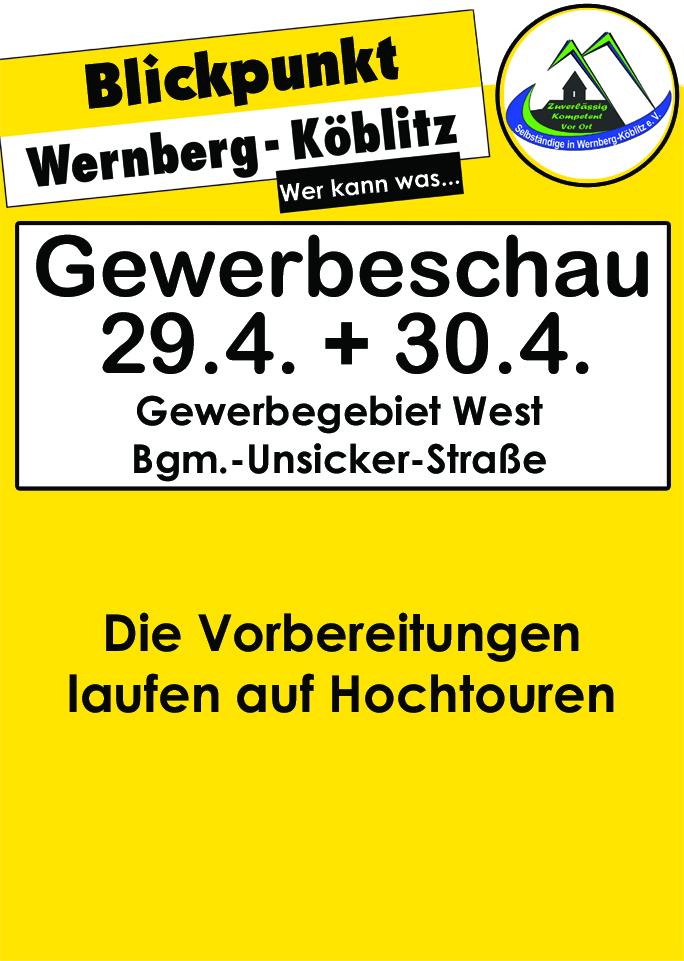 Die Gewerbeschau in Wernberg-Köblitz