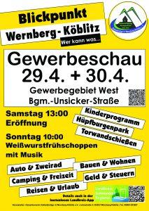 Gewerbeschau-Plakat
